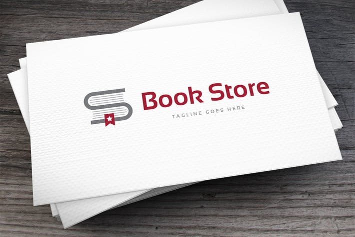 Thumbnail for Book Store Logo Template