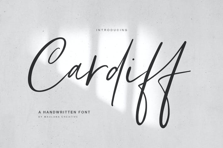Thumbnail for Cardiff Typeface