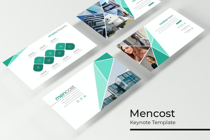 Thumbnail for Mencost - Keynote Template