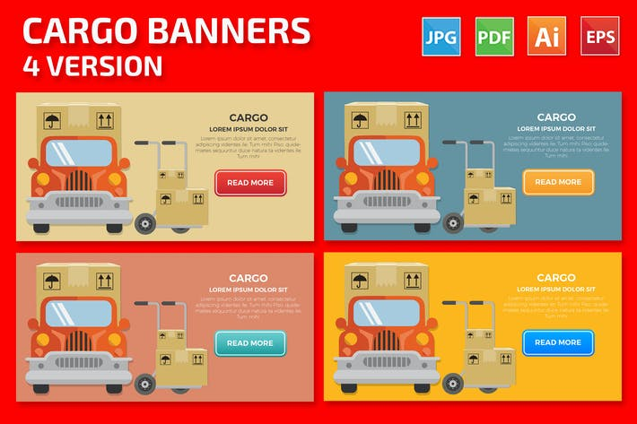 Cover Image For Cargo Banners Design