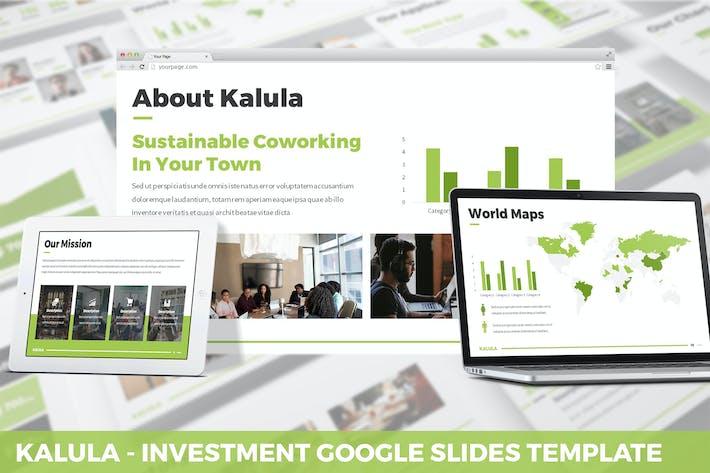 Thumbnail for Kalula - Investment Google Slides Template