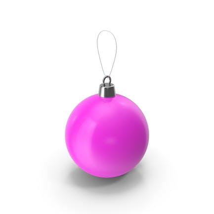 Christmas Tree Toy Violet