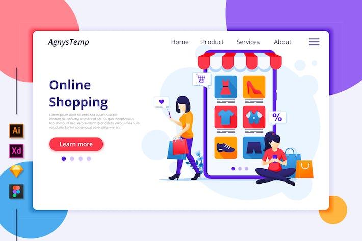 Thumbnail for Agnytemp - Shopping Illustration v10