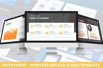 Investment - Investor Google Slides Template