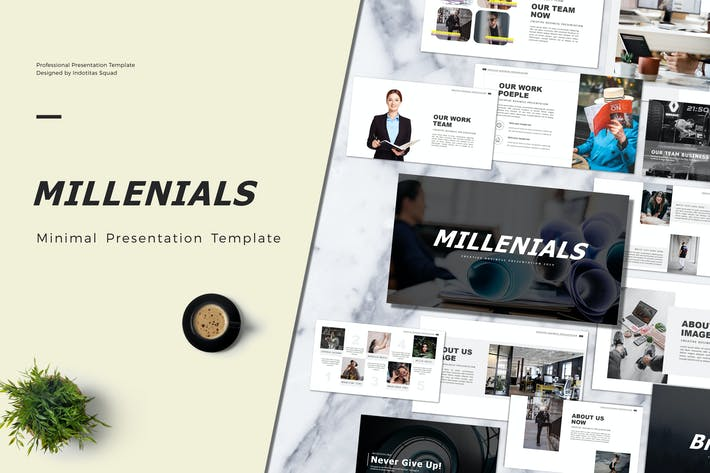 Thumbnail for MILLENIALS - Powerpoint Template