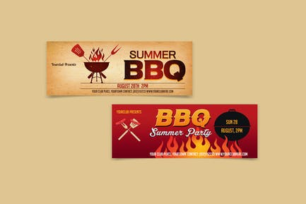 BBQ Party Facebook Cover