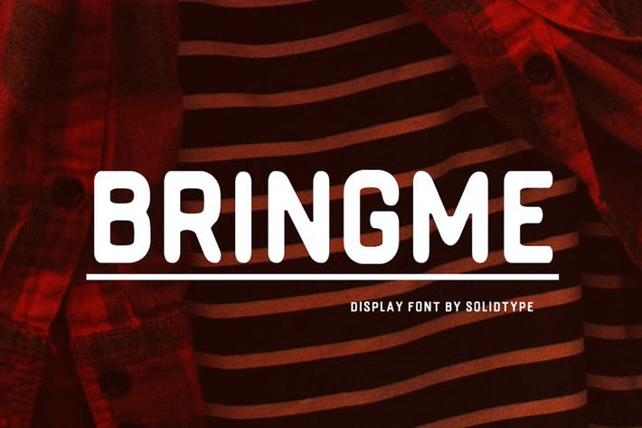 Thumbnail for Bringme Display Font