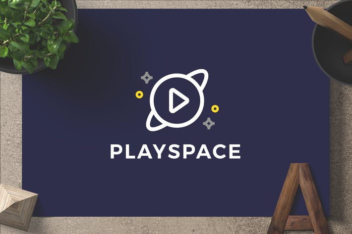 Thumbnail for Playspace — Logo Template