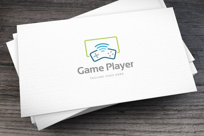 Game Player Logo Template
