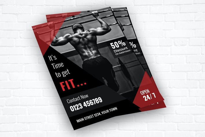 Thumbnail for Fitness/Gym Center Flyer