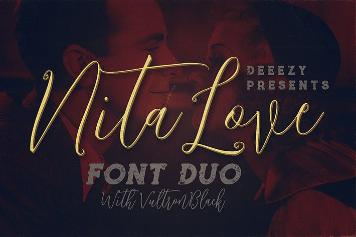 Thumbnail for Nitalove Font Duo