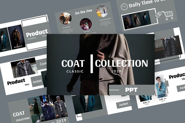 Coat - Fashion Powerpoint Presentation