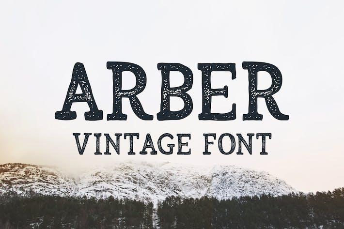 Thumbnail for Arber Vintage Font
