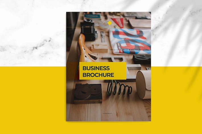 Thumbnail for Yellow Business Brochure