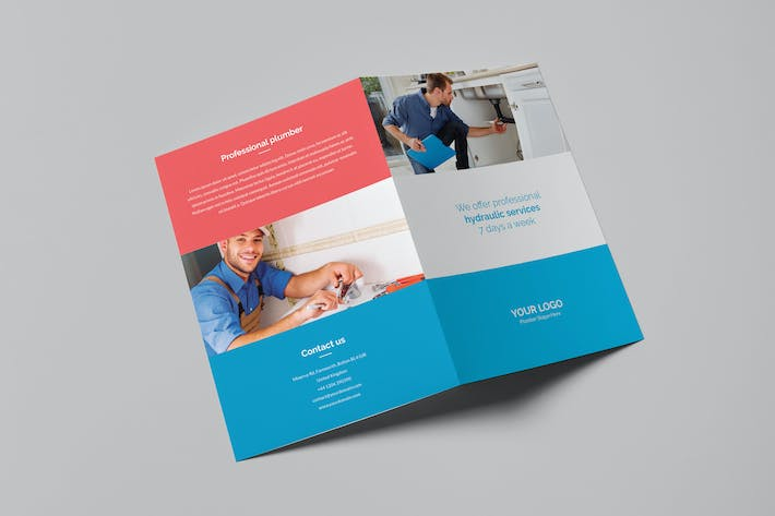 Thumbnail for Brochure – Plumber Bi-Fold