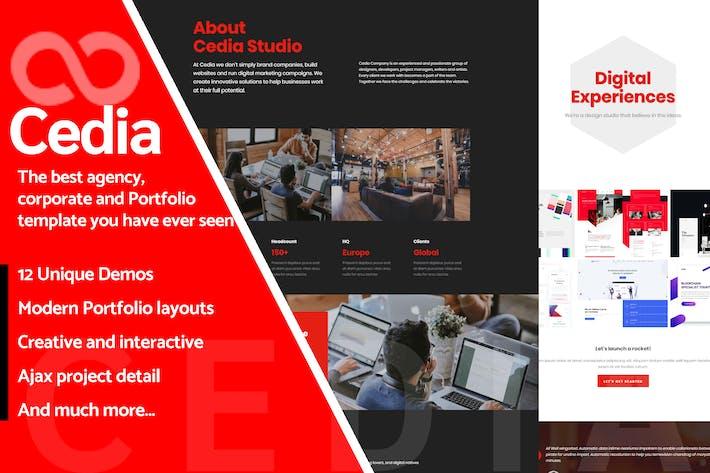 Thumbnail for Cedia - Creative Multi-purpose Modèle
