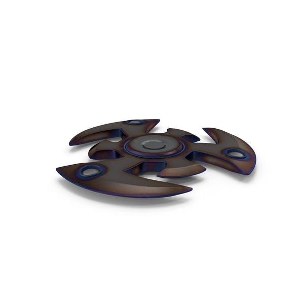 Fidget Spinner Burn Metal