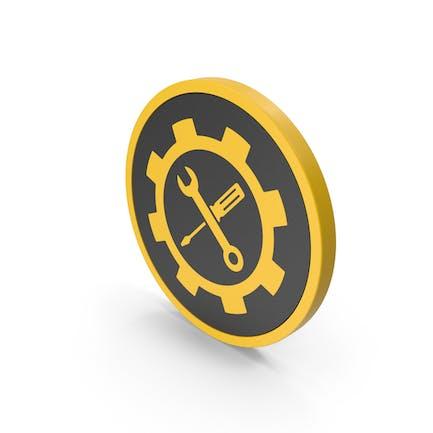Icon Tools Yellow