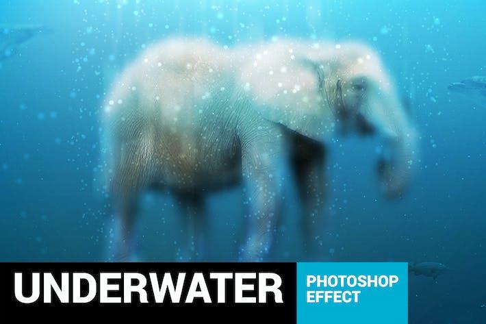 Cover Image For Аквариум - Подводный Photoshop Action