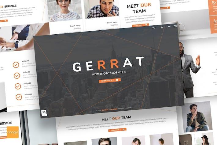 Thumbnail for Gerrat - Business Google Slides Template
