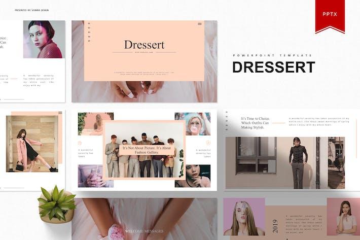 Thumbnail for Dressert  | Powerpoint Template