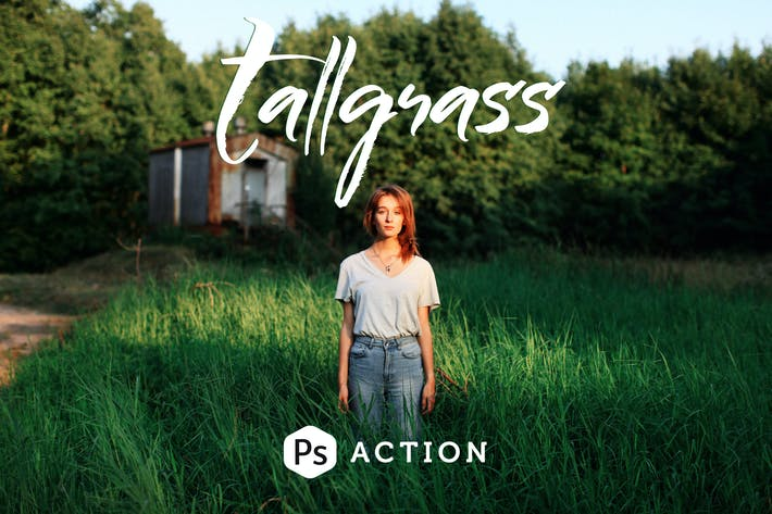 Cover Image For Tallgrass Photoshop Action