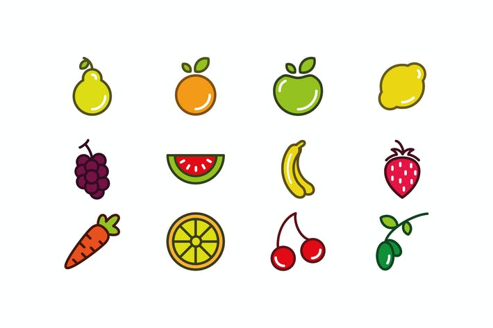 Thumbnail for Fruits Icons
