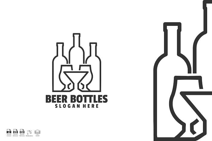 Thumbnail for beer bottles logo