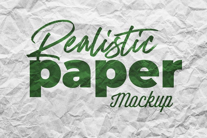 Thumbnail for SGM - Paper Logo Mockup. 02