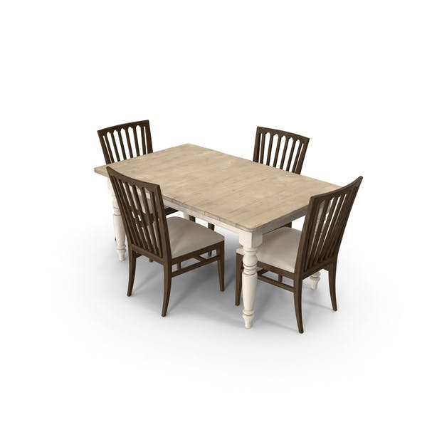 Thumbnail for Classical Dining Room Set