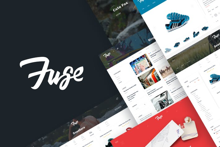 Thumbnail for Fuse – Project Showcase & Creative Store