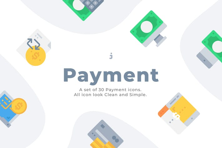 Thumbnail for 30 Payment Icons - Flat