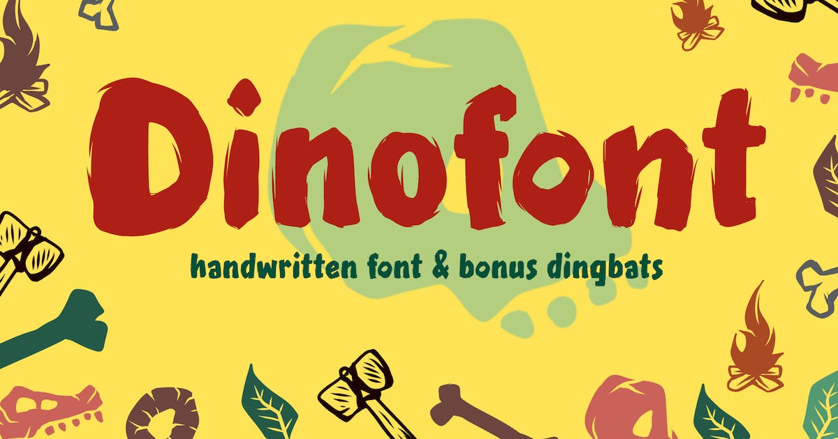 Download Dinofont Kids Friendly by typecoconut