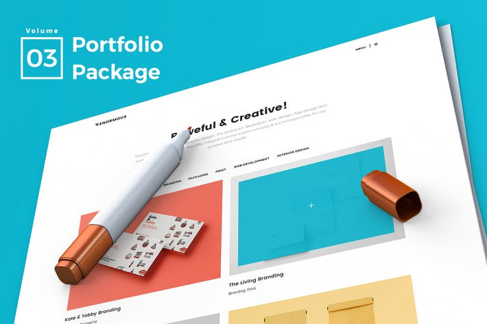 Thumbnail for Web Portfolio Vol 03