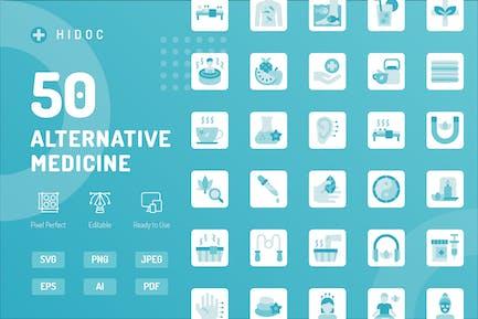 Hidoc - Alternativ-Medizin-Icons