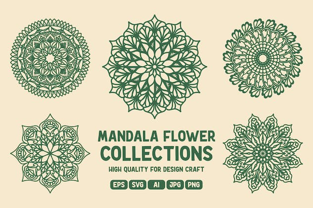 Mandala Flower Collections
