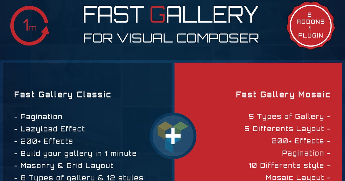 Download Fast Gallery for Visual Composer Wordpress Plugin by ad-theme