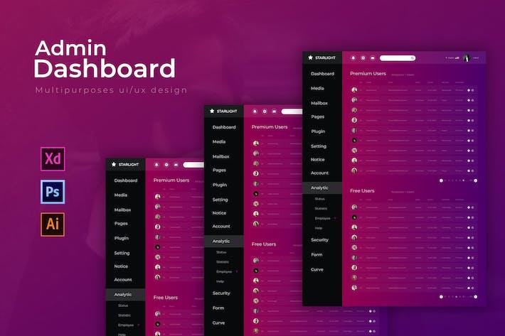 Thumbnail for Starlight Dashboard | Admin Template