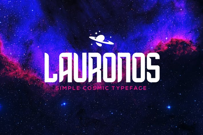 Thumbnail for Lauronos typeface