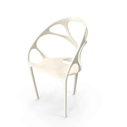 White Skeleton Chair