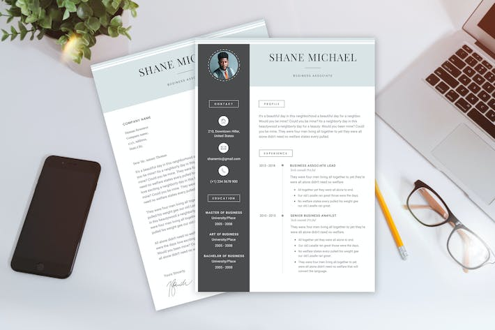 Thumbnail for Business Associate CV Template