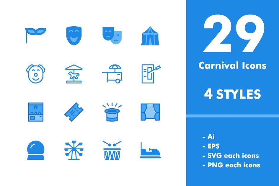 Download Carnival Icon Set by deemakdaksinas