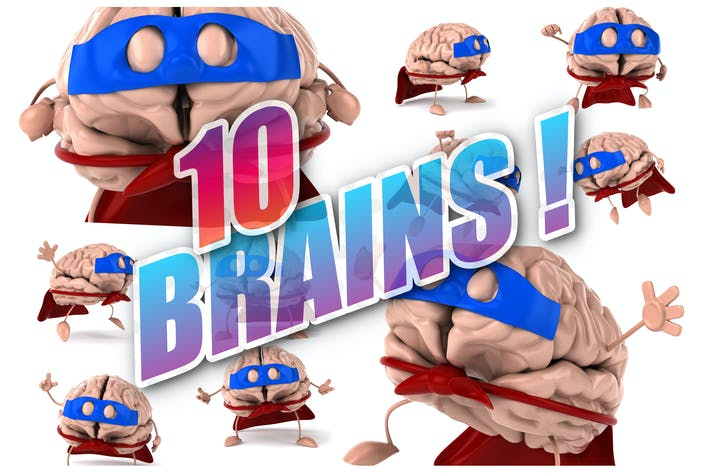 Thumbnail for 10 super Brains !