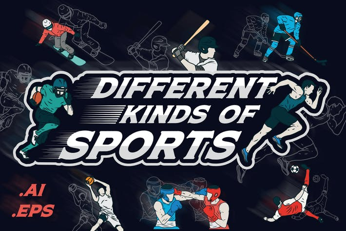 Thumbnail for Different Kinds Of Sports Vector Pack