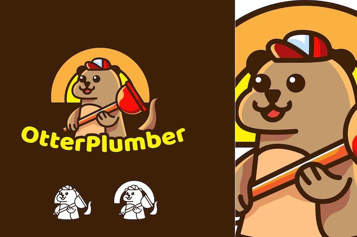 Thumbnail for otter plumber - Mascot & Esport Logo