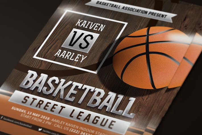 Thumbnail for Baskeball Game Flyer