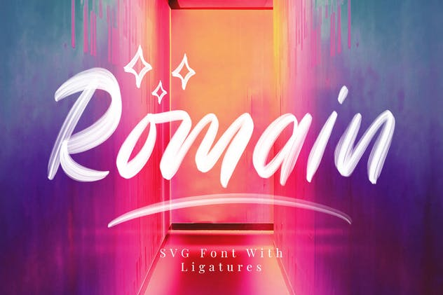 Romain SVG Sans