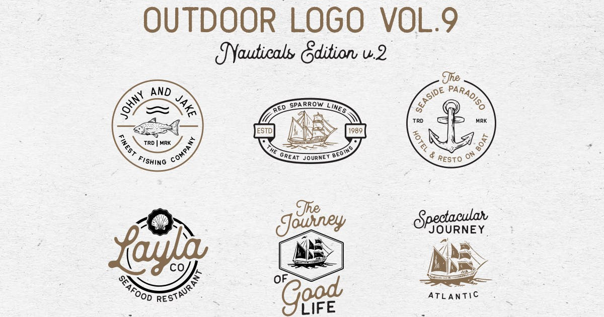 Download Outdoor Logo Vol.9 by letterhend