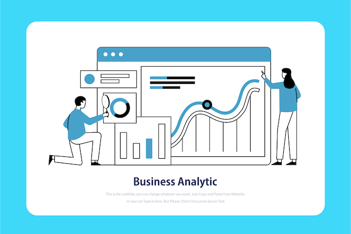 Thumbnail for Business Analytic - Onboarding Illustration