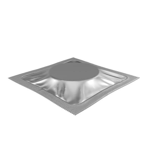 Square Condom Packaging